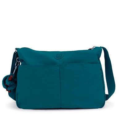 키플링 Kipling Rosita Crossbody Bag,Gleaming Green