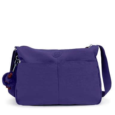 키플링 Kipling Rosita Crossbody Bag,Berry Blue