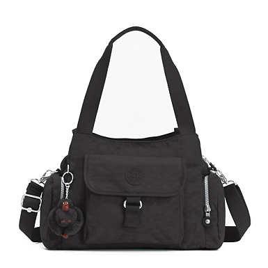 키플링 Kipling Felix Large Handbag,Black