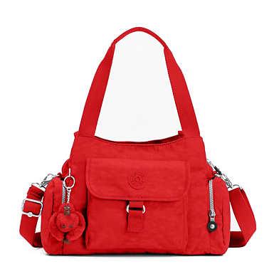 키플링 Kipling Felix Large Handbag,Cherry