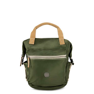 키플링 Kipling TsukiSmall Backpack,Elevated Green