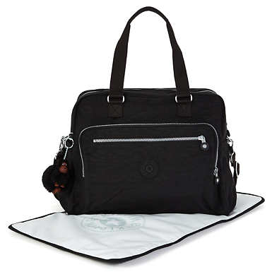 Alanna Diaper Bag - Black