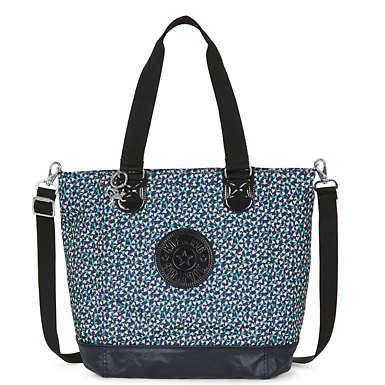 Shopper Combo Print Tote - Think Spring