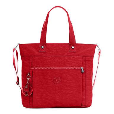 키플링 Kipling Lizzie15 Laptop Tote Bag,Cherry Classic