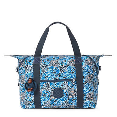 Art M Printed Tote Bag - Piercing Posies