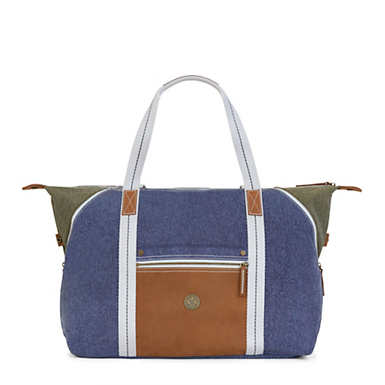 Art M Tote Bag - Aged Block