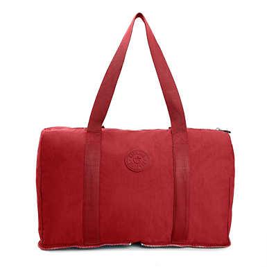 키플링 Kipling HonestFoldable Duffel Bag,Cherry Pack
