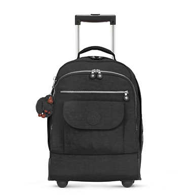 키플링 사나 라지 롤링 백팩 - 블랙 Kipling Sanaa Large Rolling Backpack,Black
