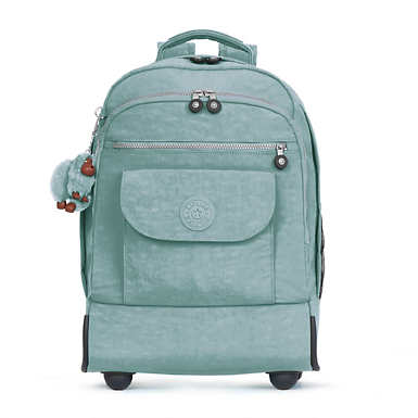 Sanaa Large Rolling Backpack - Sea Green
