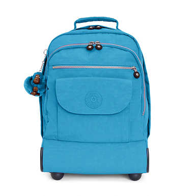Sanaa Large Rolling Backpack - Polaris Blue