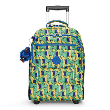 sanaa large printed rolling backpack undefined