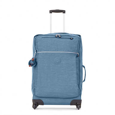 Darcey Medium Rolling Luggage - Blue Bird