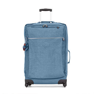 Darcey Large Rolling Luggage - Blue Bird