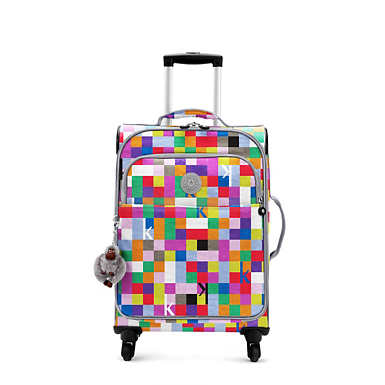 Parker Small Printed Wheeled Carry-On Luggage - undefined