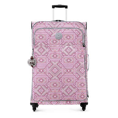 Parker Large Printed Rolling Luggage - undefined