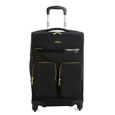 Ronan Medium Luggage - Black Patent Combo