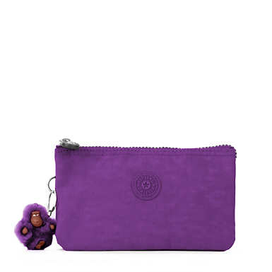 Creativity Large Pouch - Tile Purple