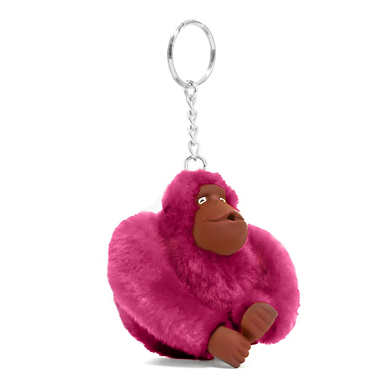 Sven Monkey Keychain - Purple Raisin