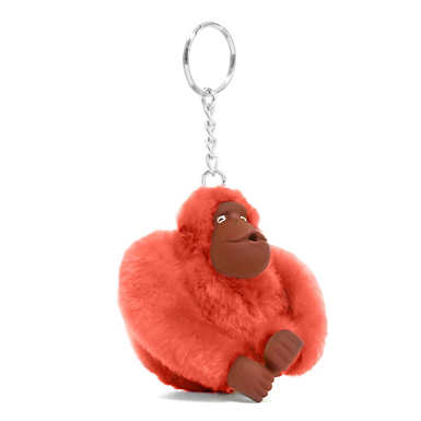 Sven Monkey Keychain - Cool Orange