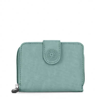 New Money Deluxe Wallet - Leaf Green