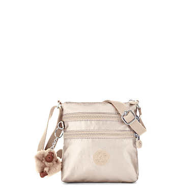 Alvar XS Metallic Mini Bag - Sparkly Gold