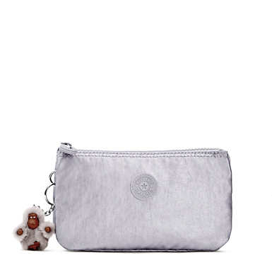 Creativity Metallic Large Pouch - Platinum Metallic