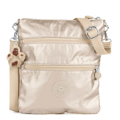 Rizzi Metallic Convertible Mini Bag - Sparkly Gold
