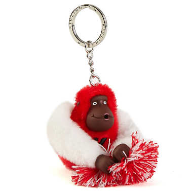 Go Kipling Cheer Monkey Keychain - Multi