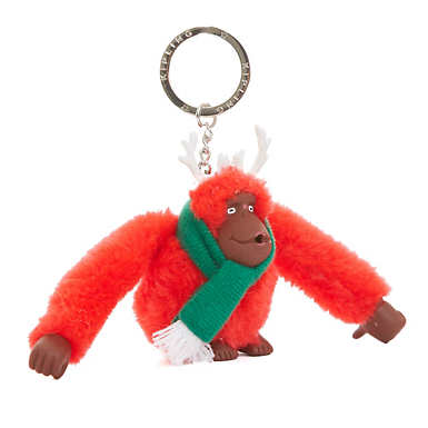 Winter Monkey Keychain - Multi