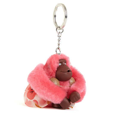 Hawaii Girl Monkey Keychain - Multi
