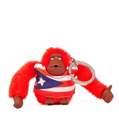 Puerto Rico Monkey Keychain - Multi