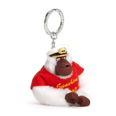 Florida Monkey Keychain - Multi