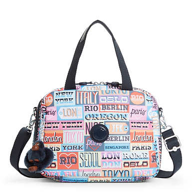 Miyo Printed Lunch Bag - Hello Weekend