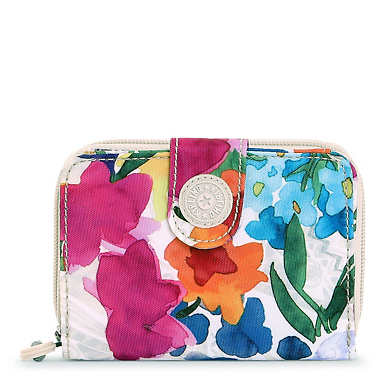 New Money Printed Wallet - Flower Power