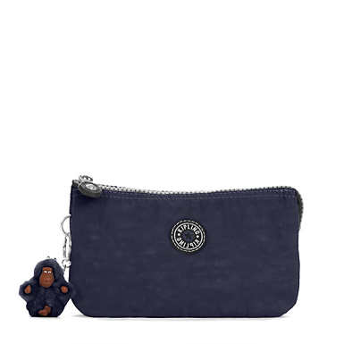 Creativity Large Vintage Pouch - True Blue Combo