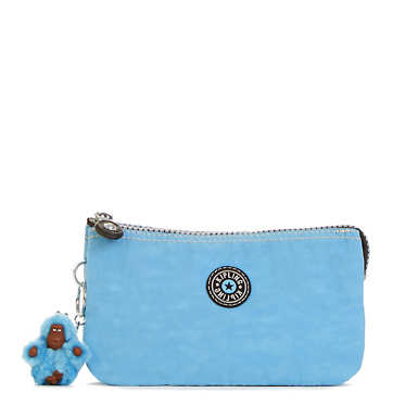 Creativity Large Vintage Pouch - Blue Grey Combo
