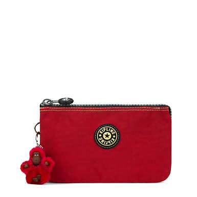 Creativity Large Vintage Pouch - Red