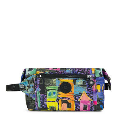 Aiden Printed Toiletry Bag - Coronado Streets