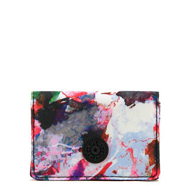 Clea Printed Snap Wallet - Wild Flower