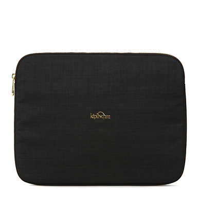 "Junya 15"" Laptop Sleeve - Black Crosshatch"