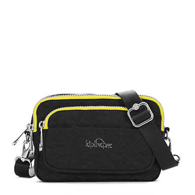 "Merryl Quilted ""K"" Waist Pack - Black"