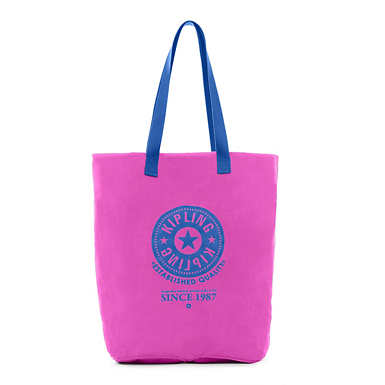 Hip Hurray Tote - Purple Garden