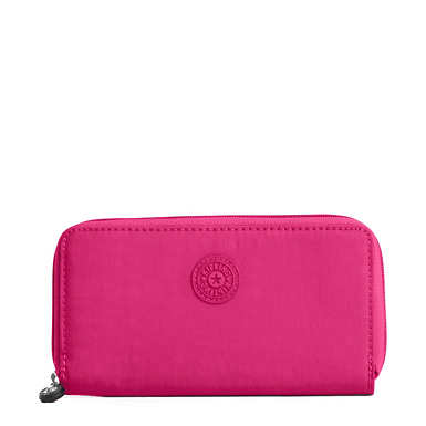 Clarissa Continental Zip Wallet - Very Berry