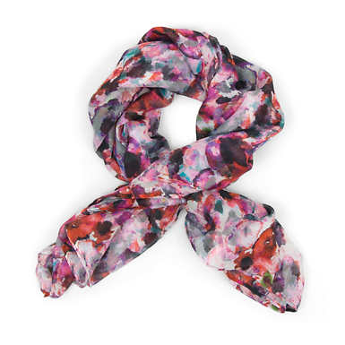 Super Soft Printed Scarf - Wild Flower