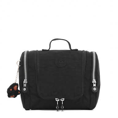 Connie Hanging Toiletry Bag - Black