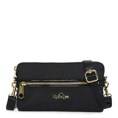 Iani Crossbody Bag - Black Crosshatch