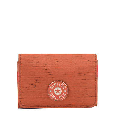 Clea Snap Wallet - Citrus Orange