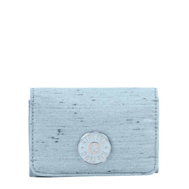 Clea Snap Wallet - Shell Blue