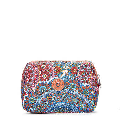 Mandy Printed Pouch - Sunshine Happy