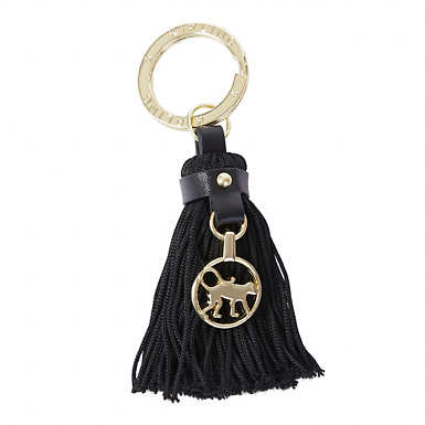 Tassel Key Fob - Black